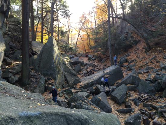 Sutton, MA: Purgatory Chasm State Reservation