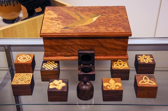Murphy, NC: Marquetry Boxes by Jane Burke