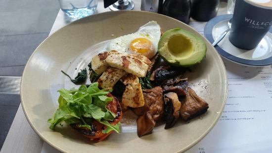 Basilica Open Kitchen: Vegetarian breakfast
