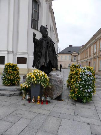 Wadowice, Poland: Statue of Pope John Paul II