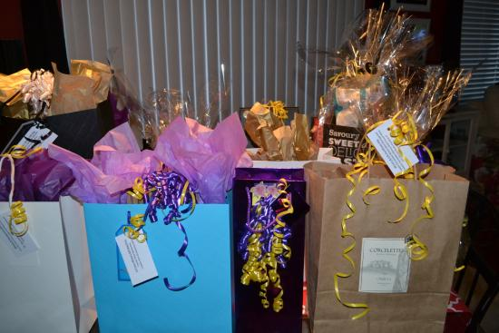 Bufflehead Pasta & Tapas Room: Siilent auction items