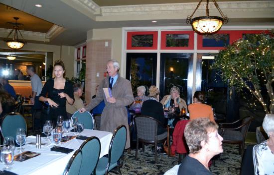 Bufflehead Pasta & Tapas Room: Dinner guests