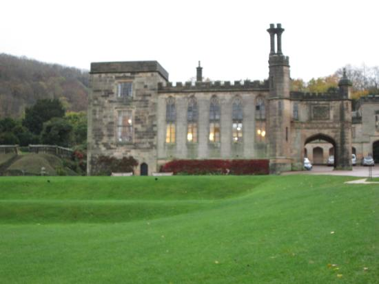 Ilam Hall from the church