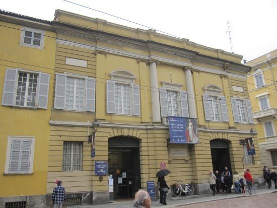 Museo Lombardi - Marie Louise and Napoleon: Museo Glauco Lombardi. Parma