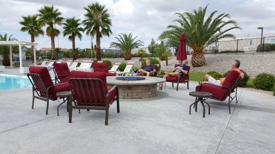 Marvelous Wine Ridge RV Resort U0026 Cottages: Wine Ridge Lower Pool Plush Patio Furniture  U0026 Fire
