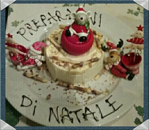 Leivi, Olaszország: Speciale dessert decorati per le festività