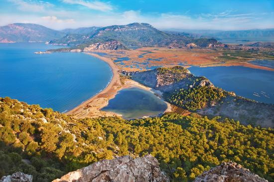 Dalyan, Turkey: Iztuzu beach