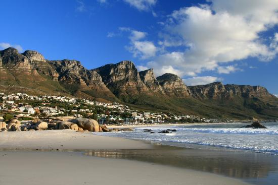 Camps Bay, South Africa: beach