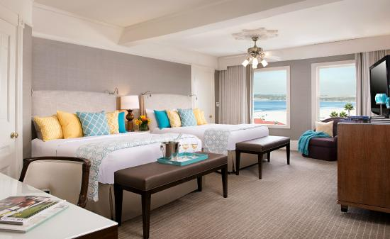 Hotel del Coronado: Coastal View Room in the Victorian Building