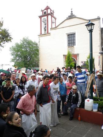 Pueblo Magico de Huasca: la piazza