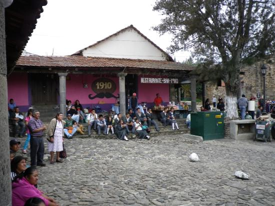 Pueblo Magico de Huasca: piazza