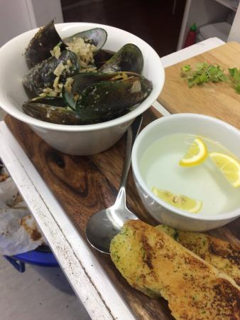 Mangonui, Nya Zeeland: Some of our delicious dishes