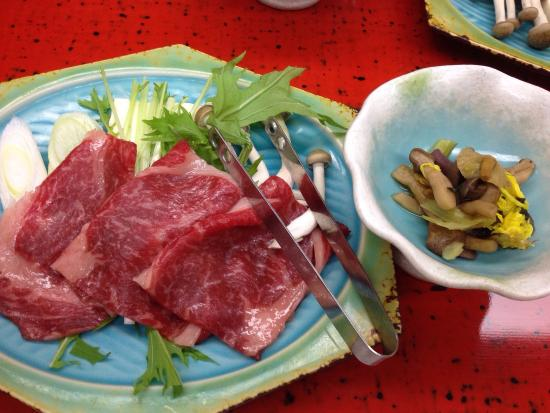 Kamiyamada Hotel: kaiseki dinner
