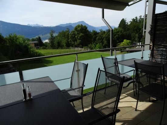 Hotel Balm Meggen : breakfast area
