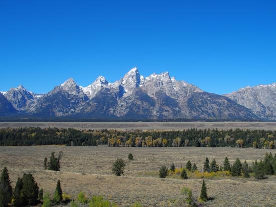 Elk Ranch Flats Turnout, Grand Teton National Park