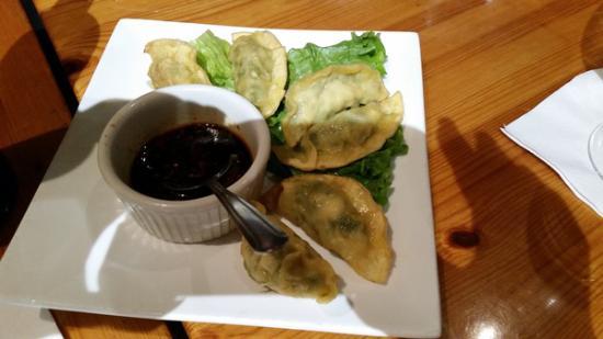 Penang: chicken dumplings