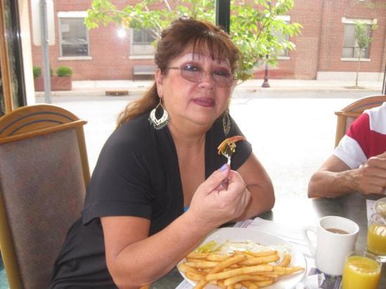 Fair Lawn, NJ: Andrea le encanta , su lugar favorito para desayunar