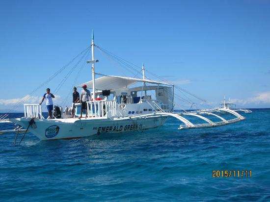 Emerald Green Diving Center - Day Tours : バンカーボート