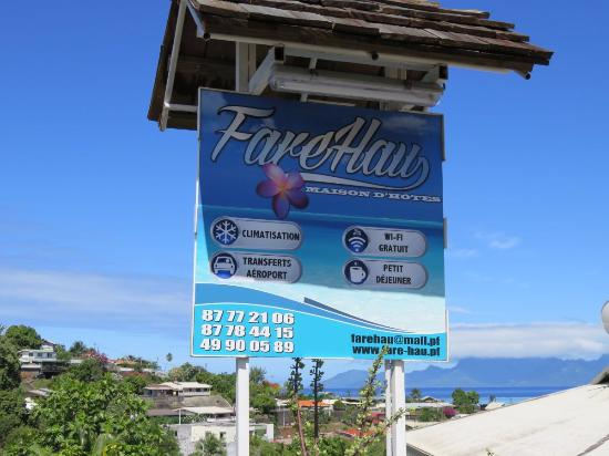 FareHau: L'entrée