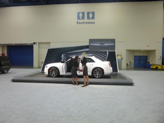 Miami Beach Convention Center Car Show Inside