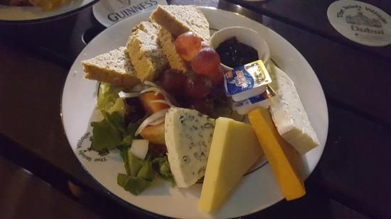 The Irish Village Cheese u0026 bread plate & Cheese u0026 bread plate - Picture of The Irish Village Dubai - TripAdvisor