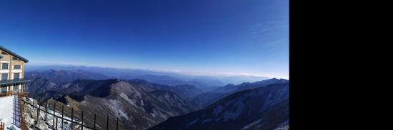 Taibaishan National Forest Park: View from the top