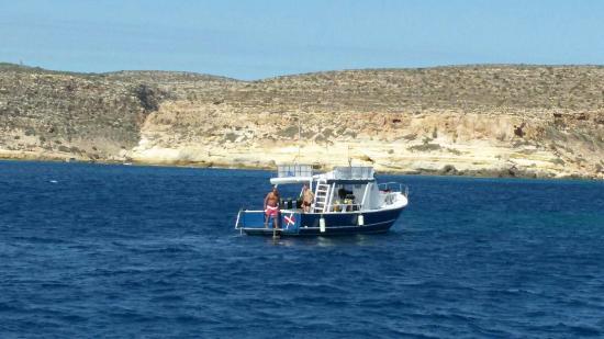 Islas de Sicilia, Italia: Pelagos diving center