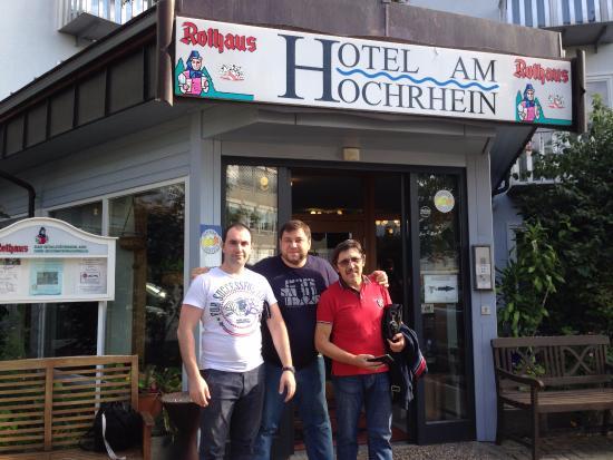 Hotel am Hochrhein: Главный вход в отель