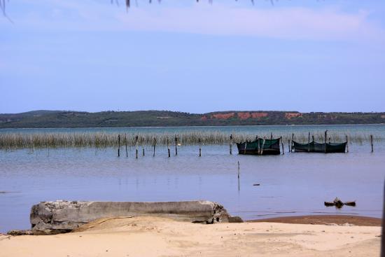 Inharrime, Mozambique : laguna