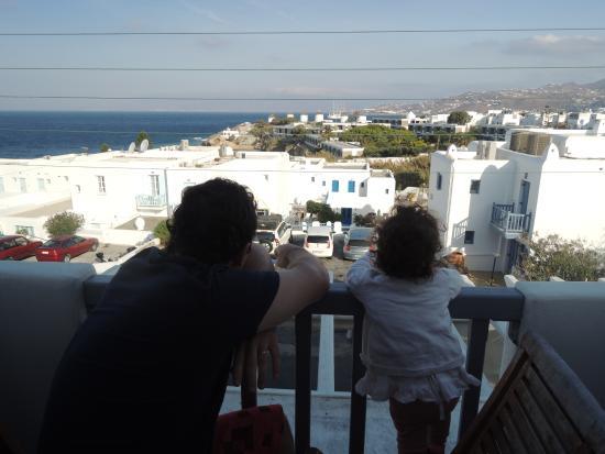Adonis Hotel: la vista desde la habitación