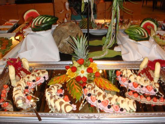 Hotel Lindenwirt: Dessertbuffet