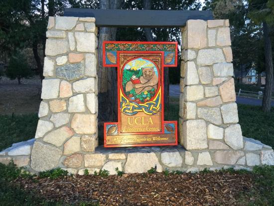 UCLA Lake Arrowhead Conference Center: Entrance Sign