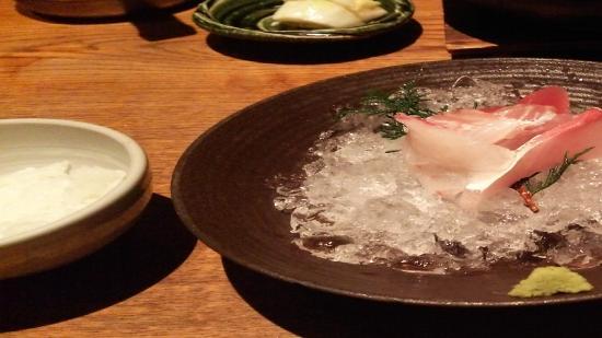 Uosho Ginpei Dotonboriten: お刺身定食(ランチ)