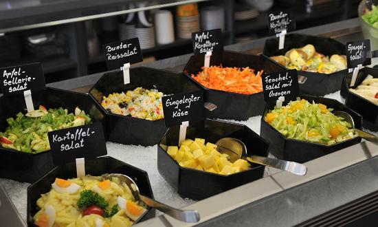 Salate zum buffet
