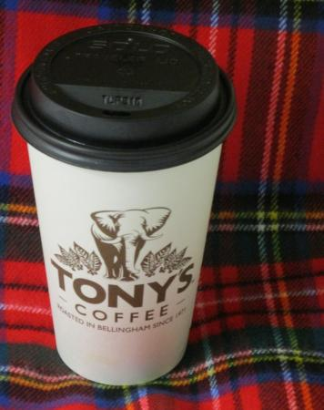 Harris Avenue Cafe and Tony's Coffee: Tony's Coffee, Bellingham, Nov. 13, 2015