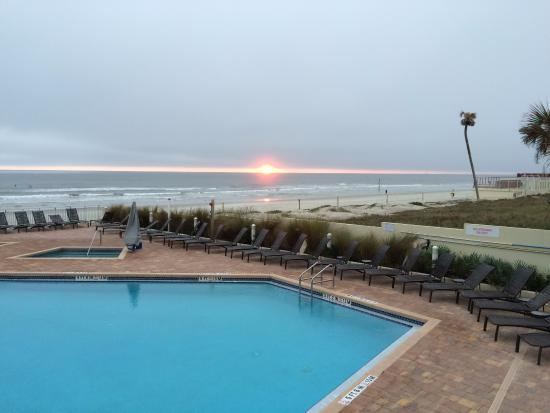 sunrise picture of hyatt place daytona beach. Black Bedroom Furniture Sets. Home Design Ideas