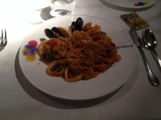 LA CUCANYA SITGES: Paella