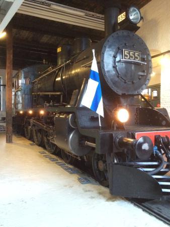 Hyvinkaa, Finlandia: Old steam engine
