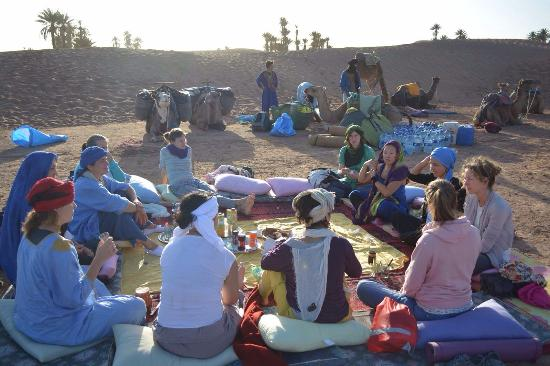 La Kasbah des Sables Iaich: Frühstück in der Wüste