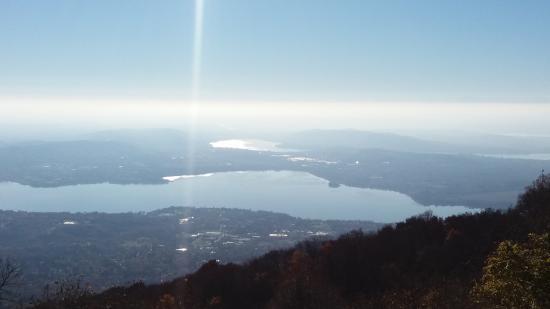 Province of Varese, Italy: dal punto panoramico verso la pianura...