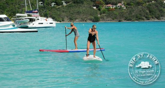 SUP St. John: Fanatic Fly Air Touring and Fanatic Grip Deck
