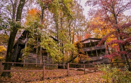 Waynesboro, TN: Chalet in the Autumn at Fitness Resort