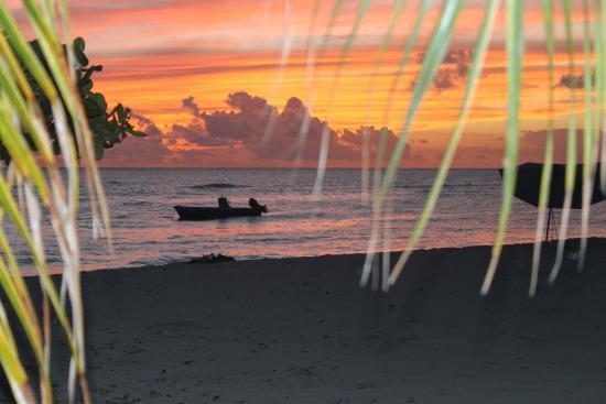Coral Sands Beach Resort: sunset