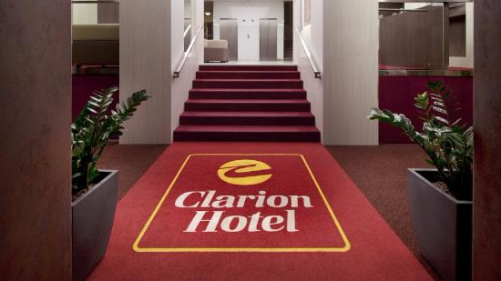 Clarion Hotel Prague Old Town: The hotel's entrance