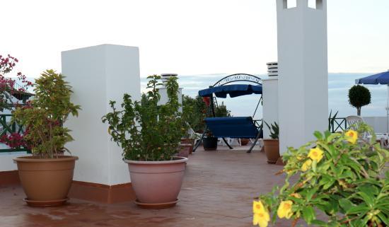 Apartamentos Los Marinos: Fra takterassen