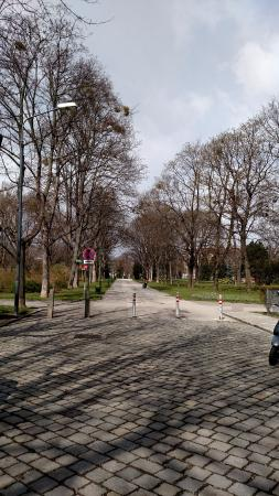 Alpengarten: entrada