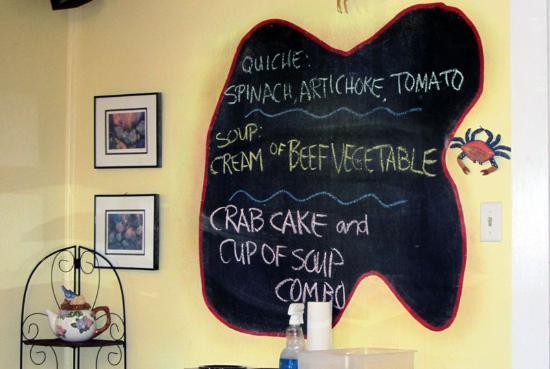 East Shore Cafe: Specials