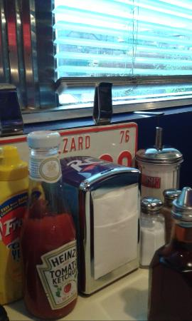 Table - Picture of 50s American Diner, Church Gresley - TripAdvisor