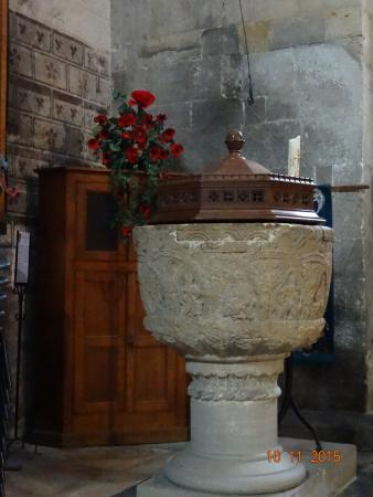 Worcestershire, UK: Font