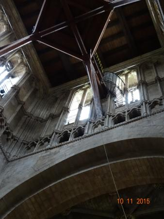 Worcestershire, UK : Inside Abbey
